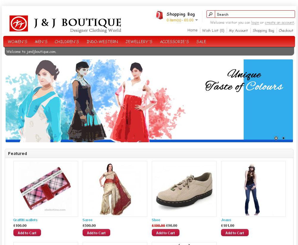 J&J Boutique UK