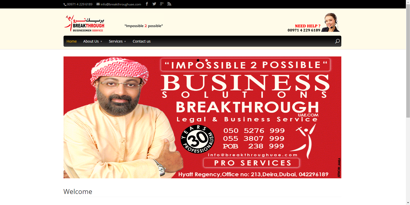 Breakthrough UAE