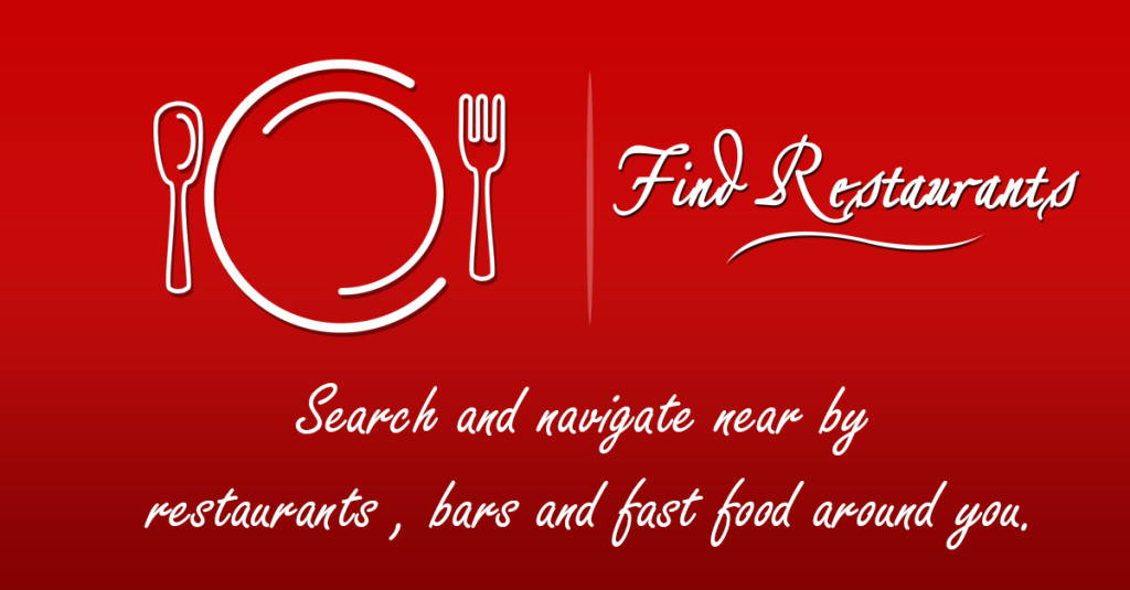 wall  Our New Iphone App Launched -Restaurant finder wall1 1024x535