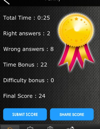 point1 quiz app Quiz App – Mobile point1 400x516