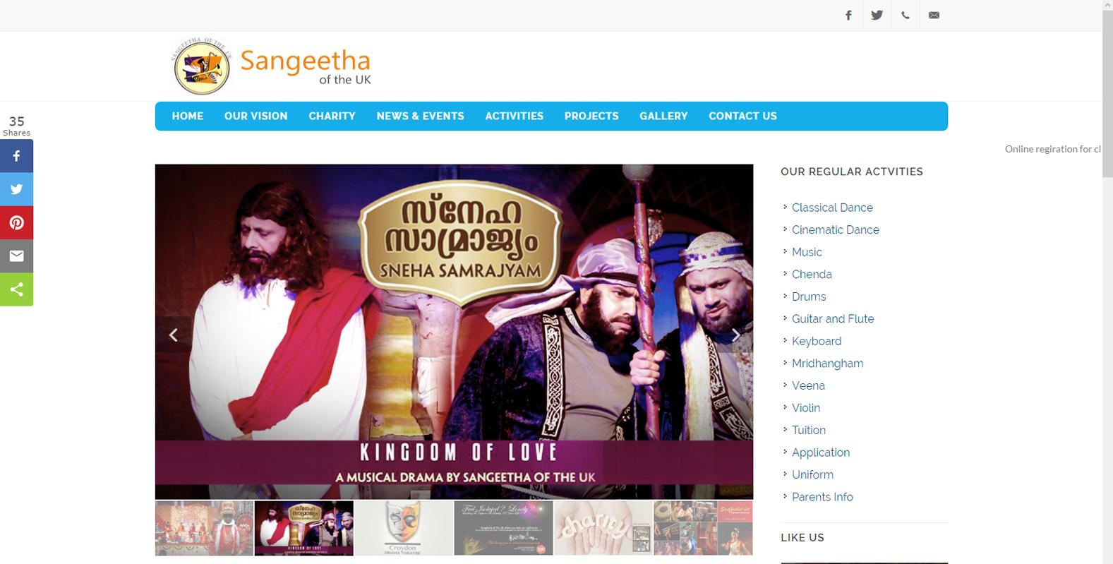 Sangeetha Of The UK