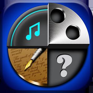 Arts Master Quiz – Movies, Music, Arts and Literature Trivia android and ios app development Portfolio Mobile ( Apps from android and iOS app development team ) icon arts master quiz 300px