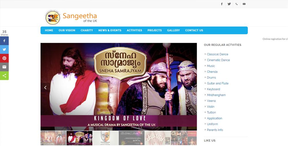 Sangeetha Of The UK sangeetha