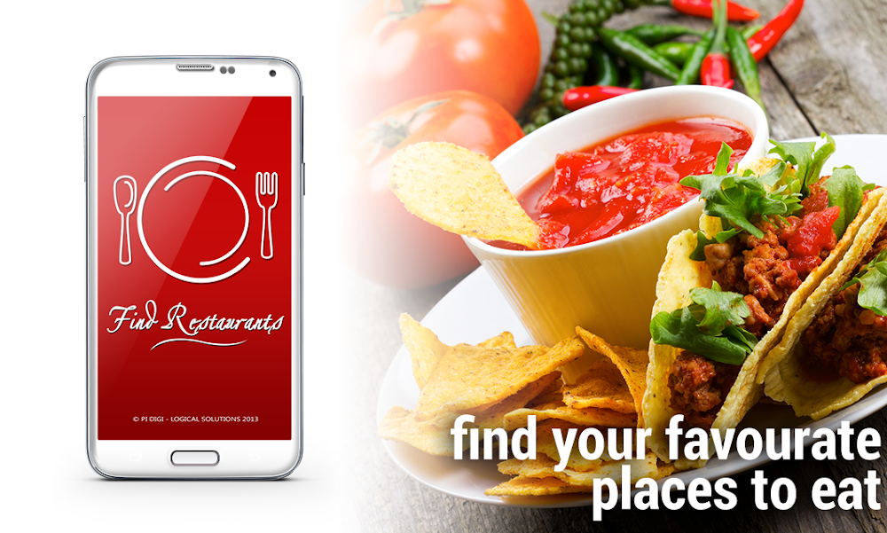 Find Restaurants Near Me Mobile App To Find Fine Places To