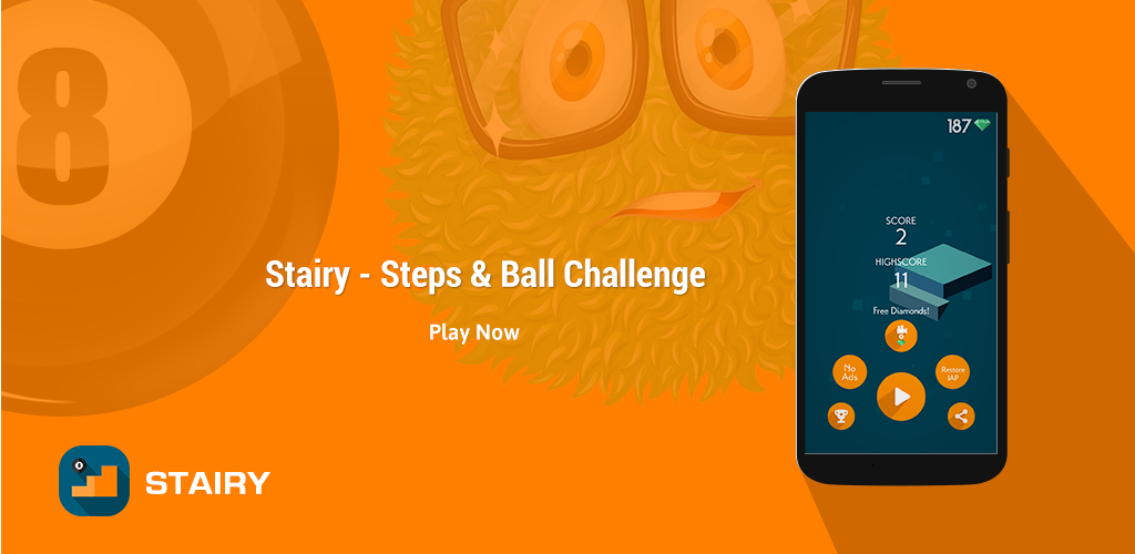 Stairy – Steps& Ball Challenge – New android casual game featured
