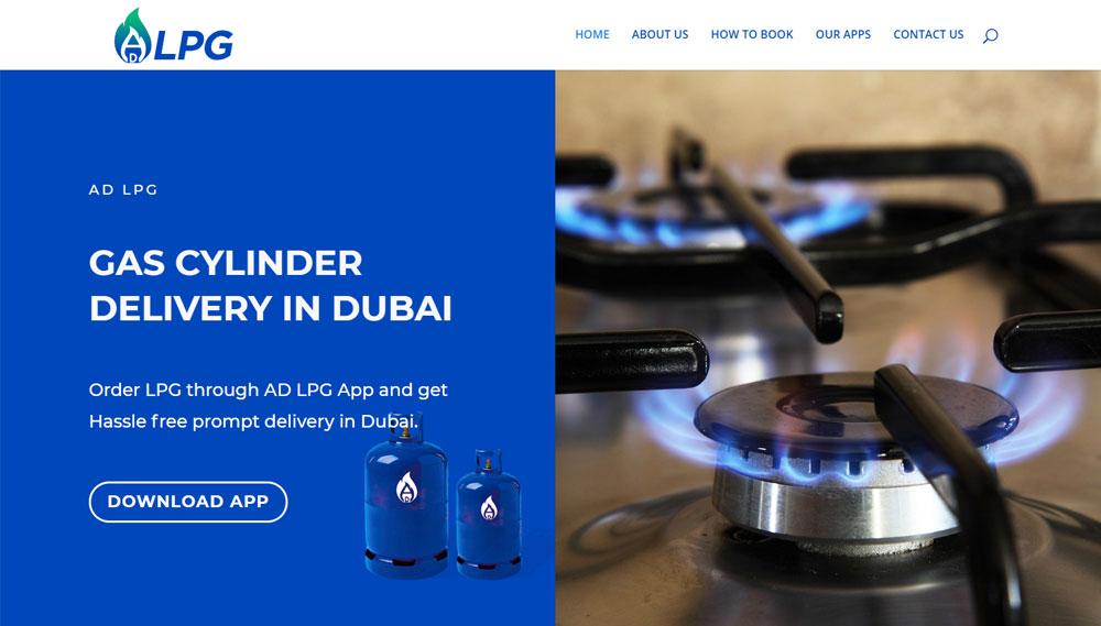 AD LPG web development Portfolio: Web Development adlpg