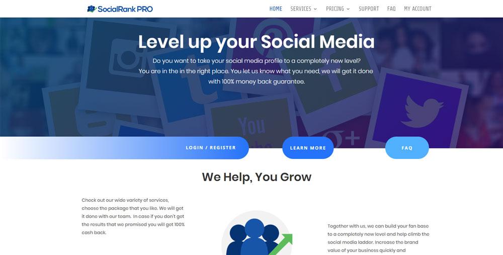 SocialRank PRO socialrankpro